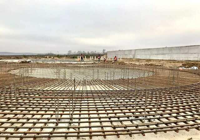 Сооружение железобетонной конструкции компанией Express Tehbud